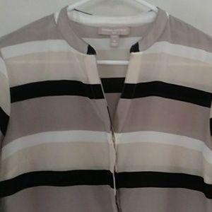 Banana Republic Tops | striped silk blouse